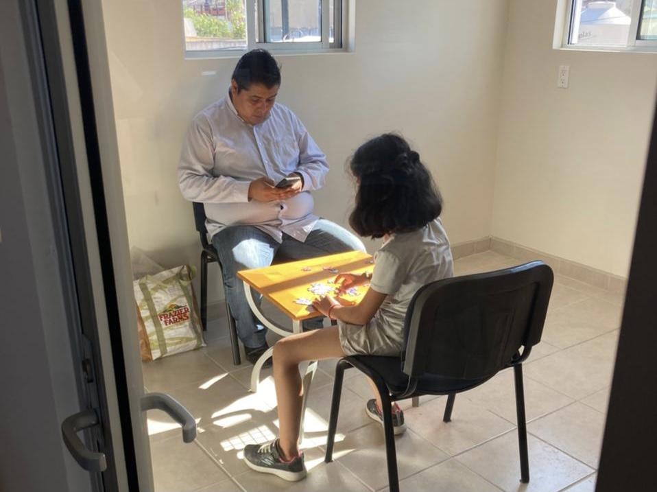 Acondicionamos espacios para brindar mejor atención psicológica a nuestros menores